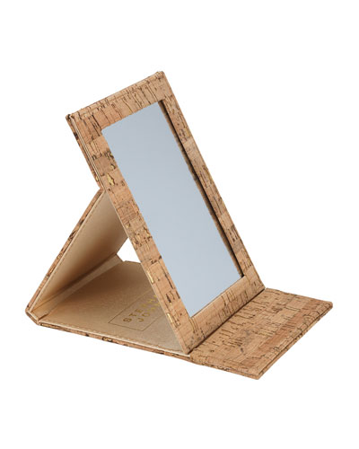 Madeira Cork Folding Mirror