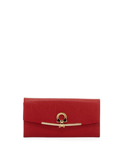 Icona Continental Wallet, Framboise