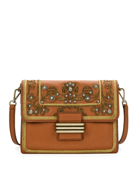 Etro Rainbow Soft Leather Crossbody Bag