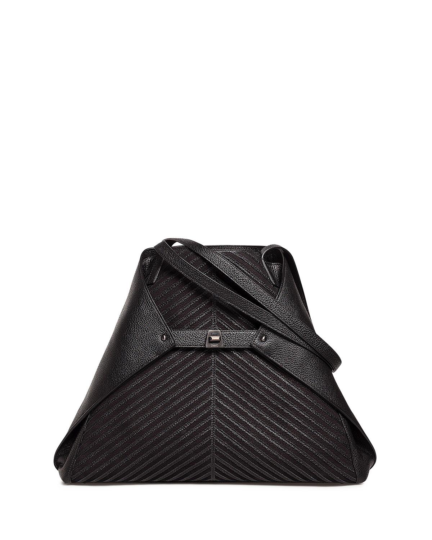 Akris Ai Medium Soft Leather Shoulder Bag   Neiman Marcus 345f05f096