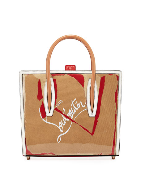 Christian Louboutin Paloma Medium Kraft Loubi Tote Bag