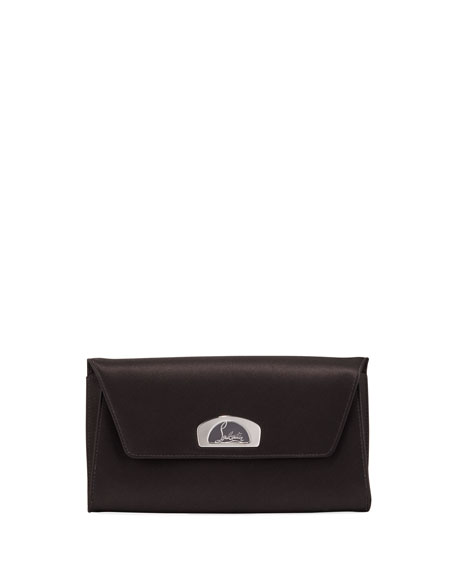 Christian Louboutin Vero Dodat Satin Clutch Bag