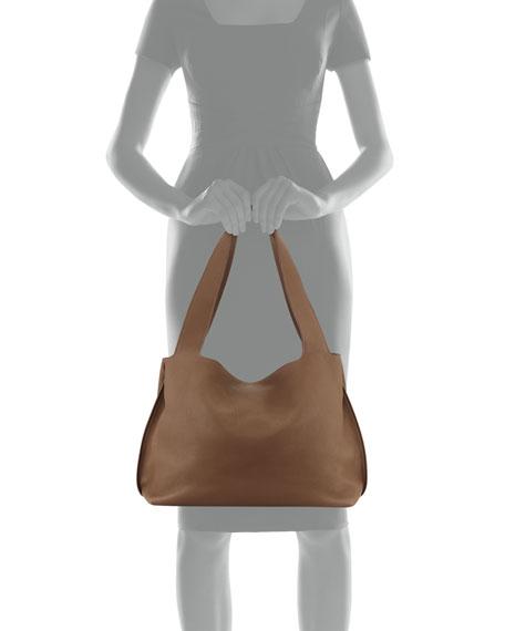 Duplex Calfskin Hobo Bag