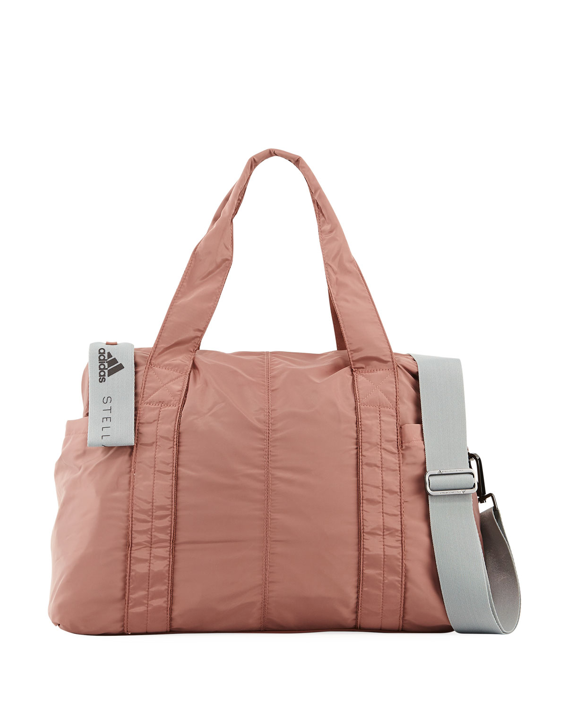 2b911163902 adidas by Stella McCartney Shipshape Mesh Gym Bag   Neiman Marcus