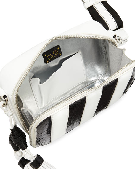 Sophie Striped Camera Bag