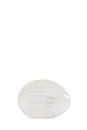 Rafe Sirene Shell Minaudiere Clutch Bag