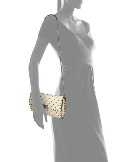 Quilted Rockstud Small Shoulder Bag