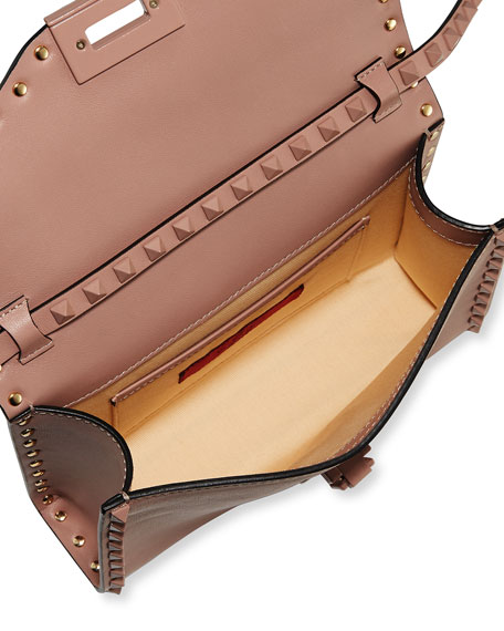 Monochrome Rockstud Medium Shoulder Bag