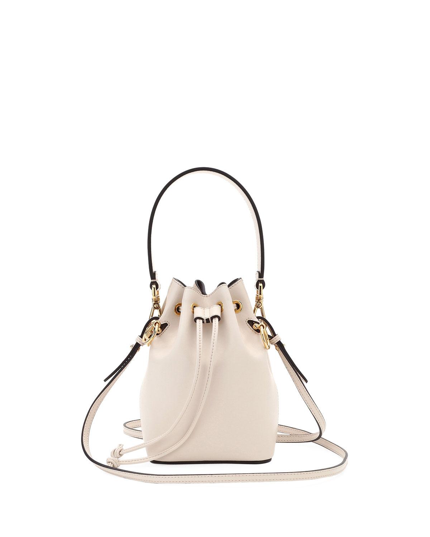 de65526ffe05 Fendi Mon Tresor Small Shiny Calf Bucket Bag