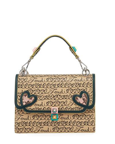 Kan I Fendi Love Regular Shoulder Bag