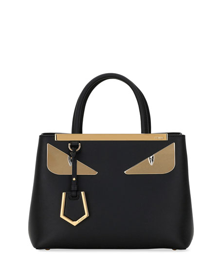 Fendi 2Jours Petite Monster Eyes Tote Bag