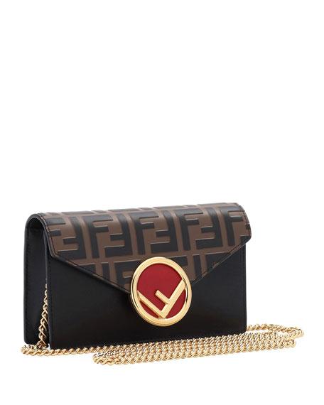 FF Embossed Calf Liberty Belt Bag/Fanny Pack