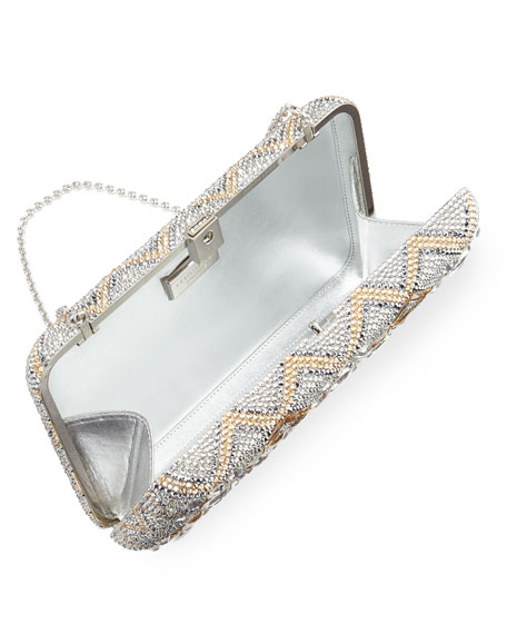 Starbright Seamless Crystal Clutch Bag