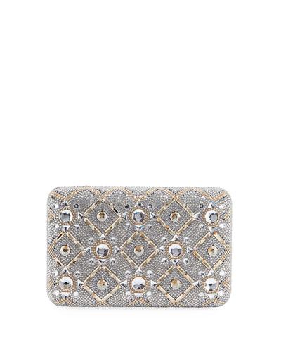 Starbright Seamless Crystal Clutch Bag