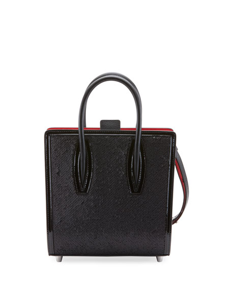 Christian Louboutin Paloma Small Paillette Tote Bag