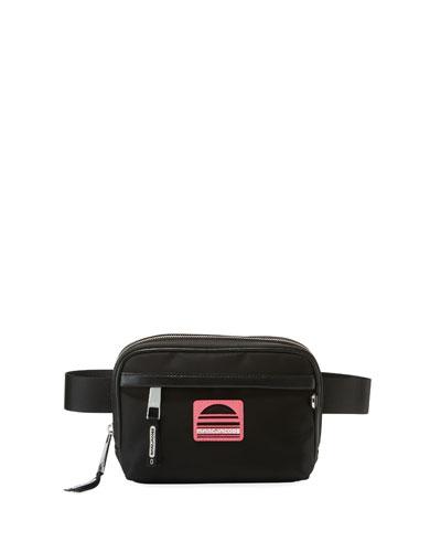 Sport Square Nylon Fanny Pack/Belt Bag