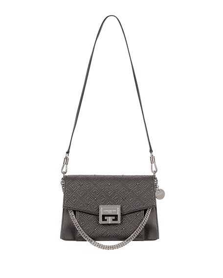 GV3 Small 4G Quilted Calf Leather Satchel Bag