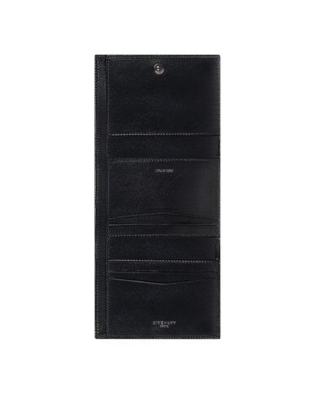 Emblem Leather 3-Fold Wallet