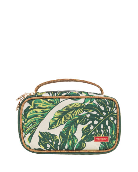 Stephanie Johnson Seychelles Green Grace Brush Case