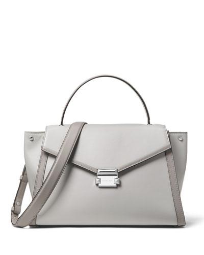 Mercer Large Leather Top-Handle Satchel Bag