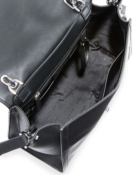 Mercer Large Leather Top-Handle Satchel Bag