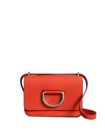 Ring Leather Crossbody Bag