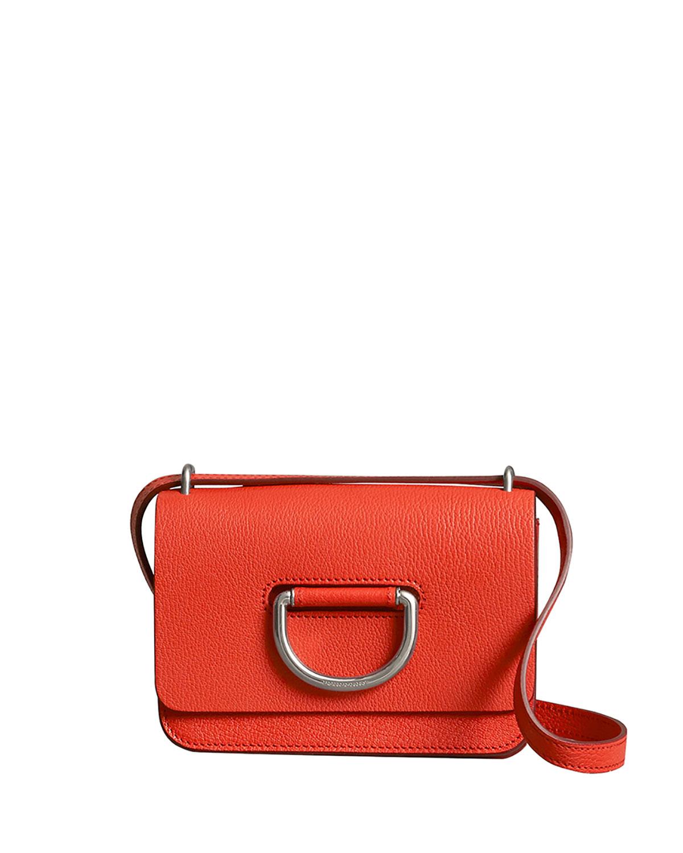 Burberry Mini D-Ring Leather Crossbody Bag   Neiman Marcus 19b4adf831