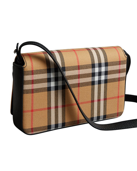 Tartan Mix Hampshire Wallet with Strap