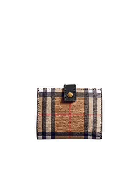 Lakeside Vintage Check Wallet