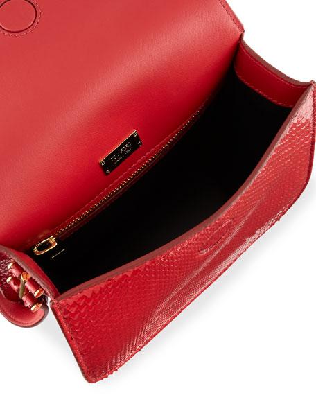 Tara Python Shoulder Bag