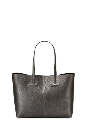 TOM FORD Small Python Tote Bag