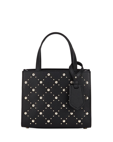 thompson street stud small sam satchel bag