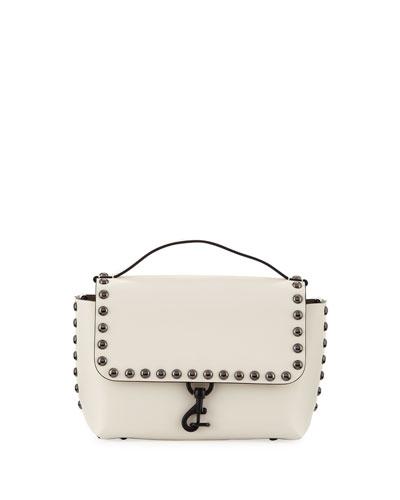 Blythe Studded Medium Crossbody Bag