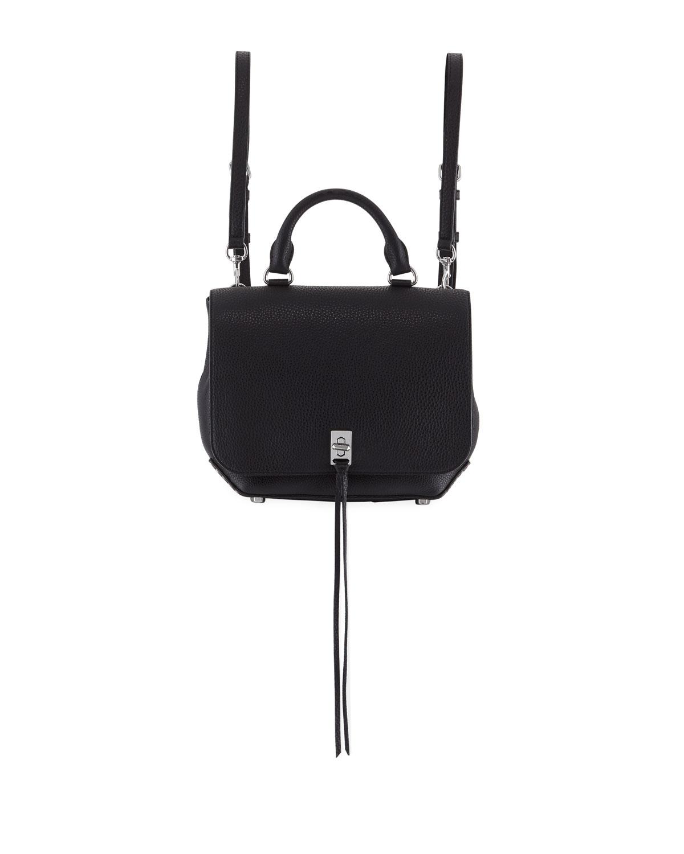 27767100ceb5 Rebecca Minkoff Darren Medium Convertible Leather Backpack