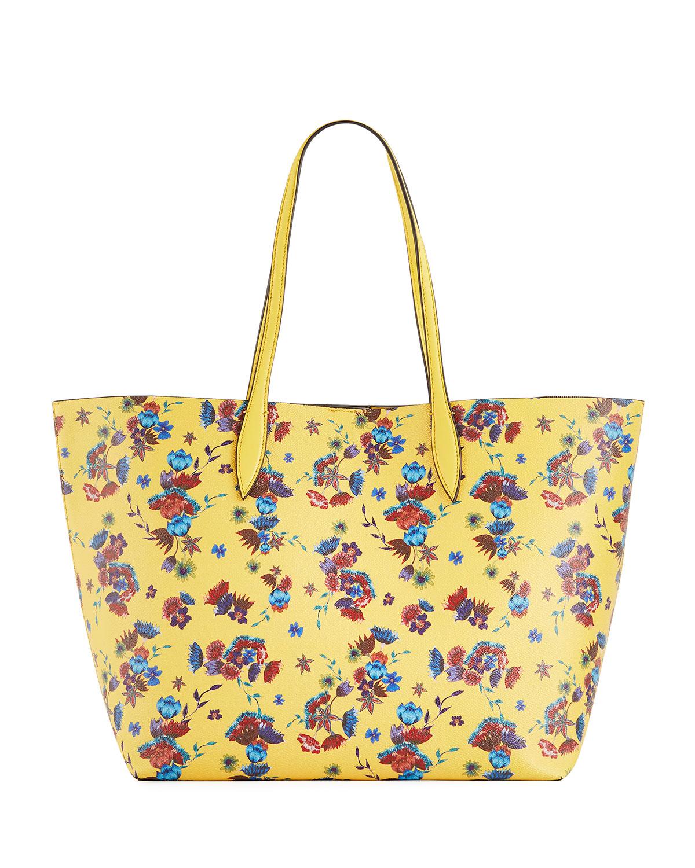 99c3ba1d435 Rebecca Minkoff Heather Large Floral-Print Shoulder Tote Bag ...