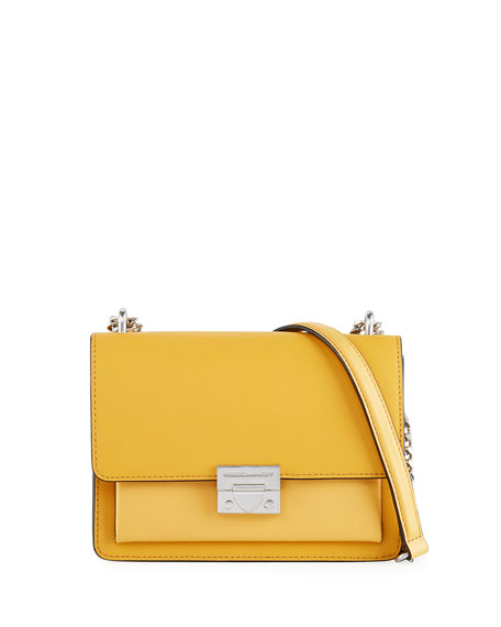Rebecca Minkoff Christy Small Leather Flap Shoulder Bag