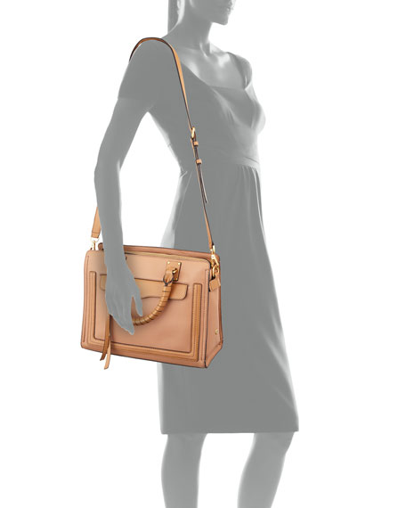 Bree Medium Top-Zip Satchel Bag