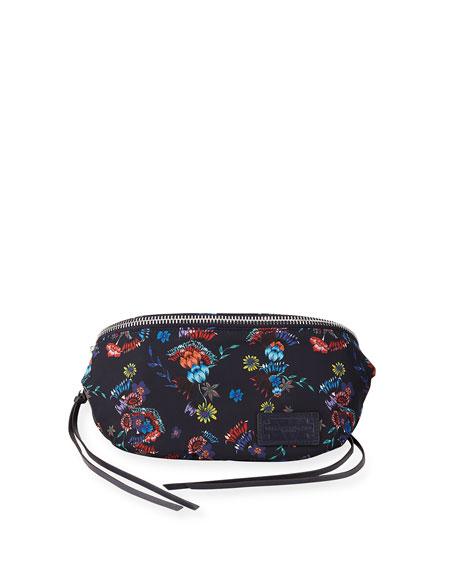 Nylon Floral Belt Bag/Fanny Pack