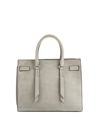 Sherry Leather Satchel Bag