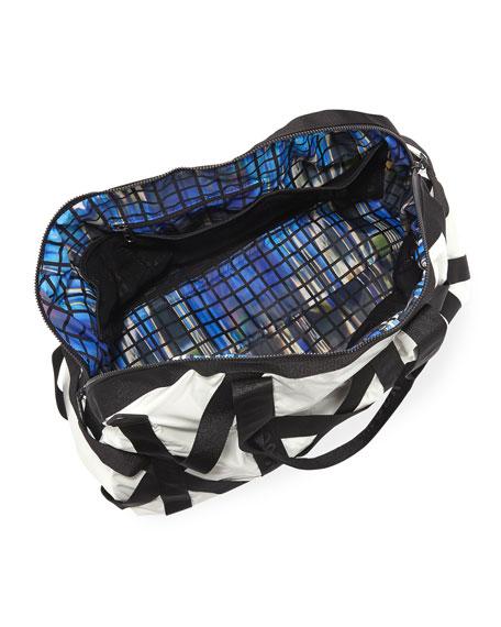 This Is It Metallic Gym Bag