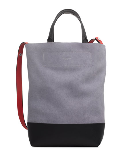 Rag & Bone Walker Convertible Tall Suede/Leather Tote