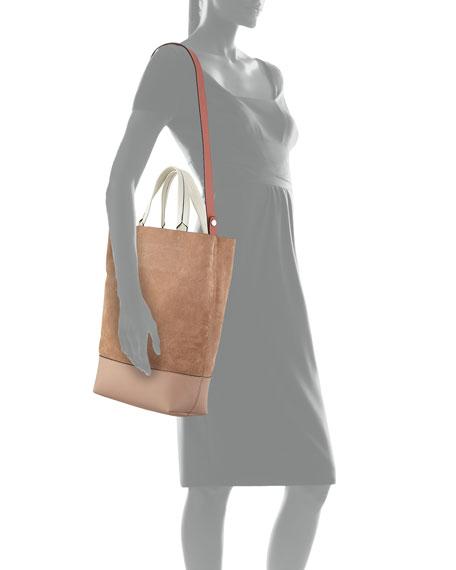 Walker Sling Suede Bucket Bag