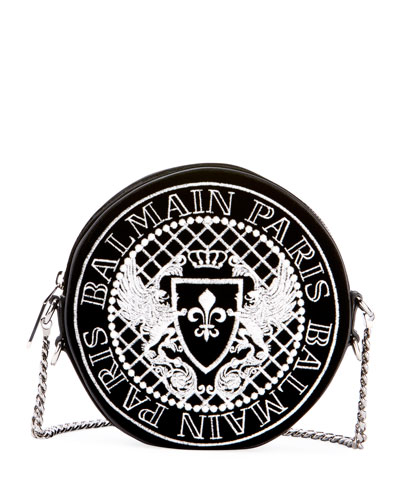 Disco Broderie Crossbody Bag