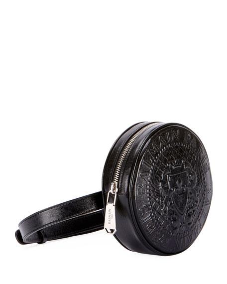 Disco Cuir Brilliant Belt Bag
