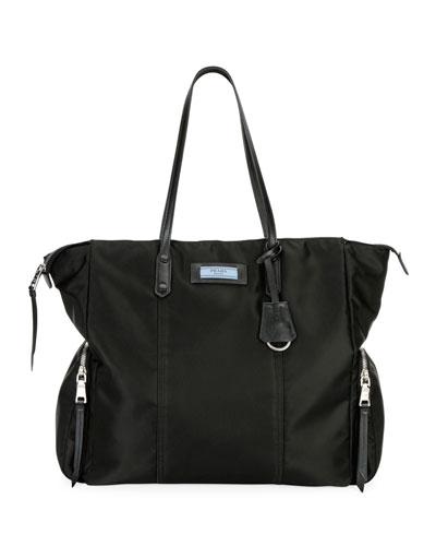 Tessuto Etiquette Shoulder Bag