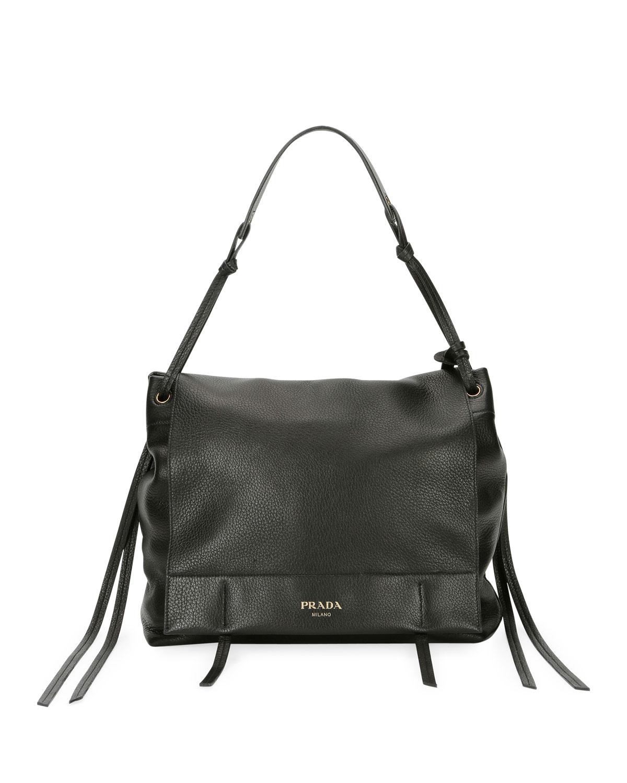 26548c8780a5 Prada Cervo Shoulder Bag | Neiman Marcus