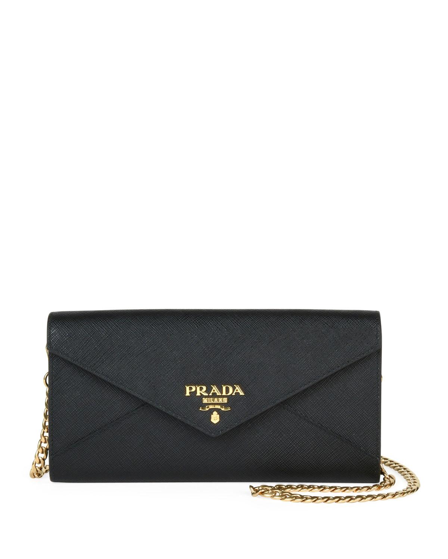 77eec50f8bdc Prada Saffiano Envelope Mini Bag