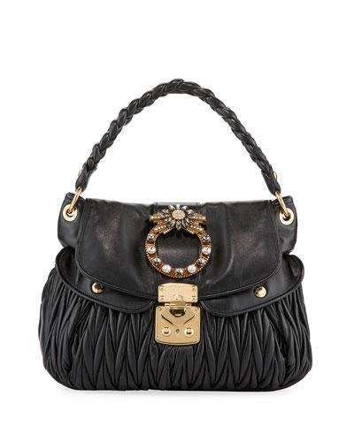 Coffer Matelasse Top Handle Bag