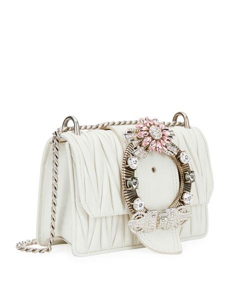 Miu Lady Matelassé Shoulder Bag