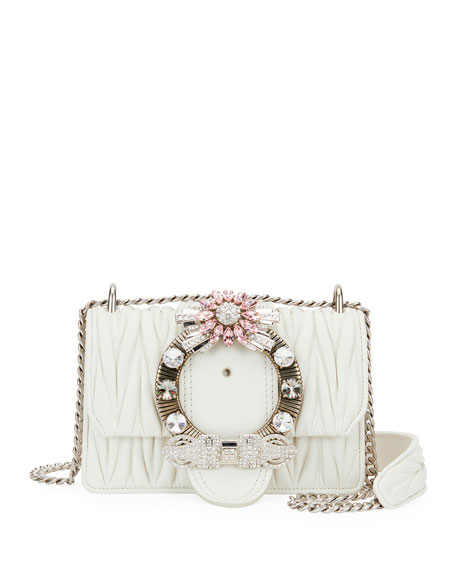 Miu Lady Matelasse Shoulder Bag